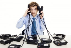 Answering your phone can be bad for business