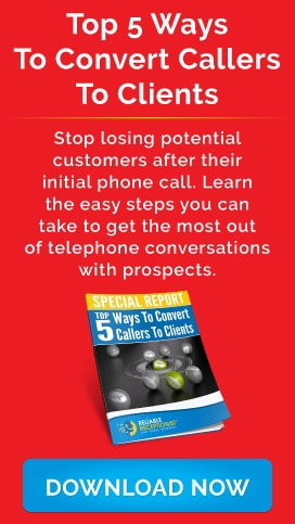 Top 5 Ways To Convert Callers To Clients E-Book