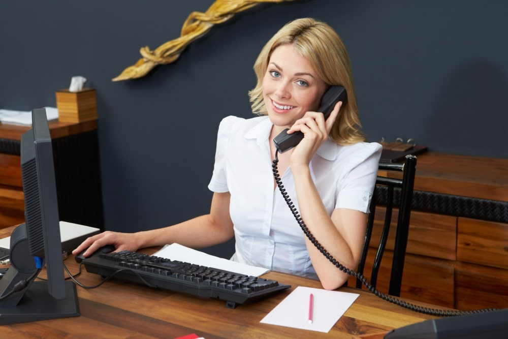 reliable receptionist is your answer